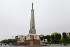 Статуя Свободы. Freedom Monument (Brīvības Piemineklis)
