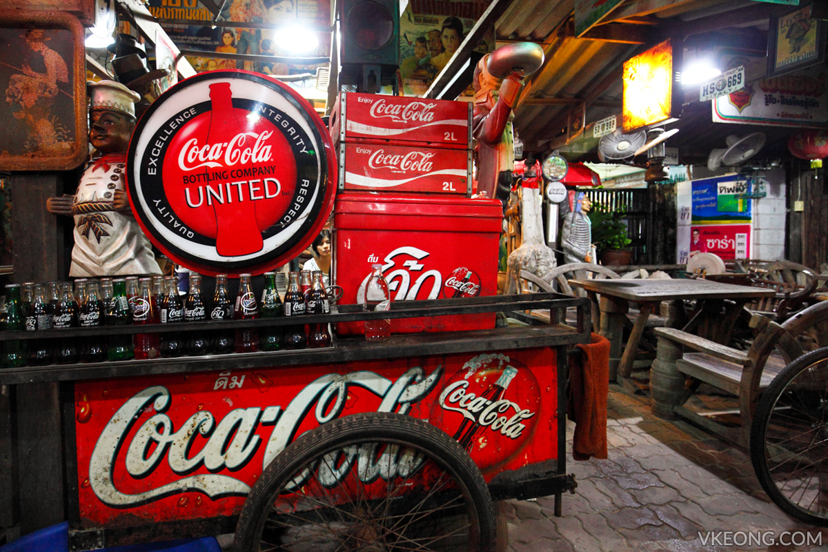 Ja Toi Thai Restaurant Pattaya Coca Cola