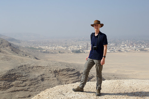 J, On Top of the World at Deir el-Bersha