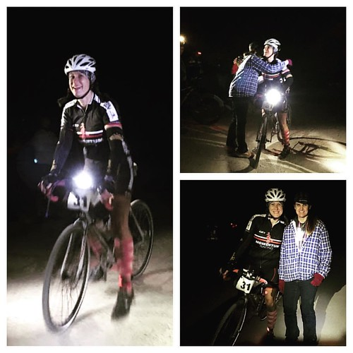 """The first thing I said at the #spottedhorsegravelultra finish line was """"That was SO hard!"""" Probably the toughest 150 miles I've ever ridden. Great course and a race director who was there to see all of her finishers. #girlsgonegravel #finishline #girlswho"""