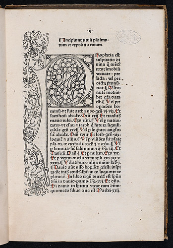 Anonymous: Margarita Davitica - Woodcut initial