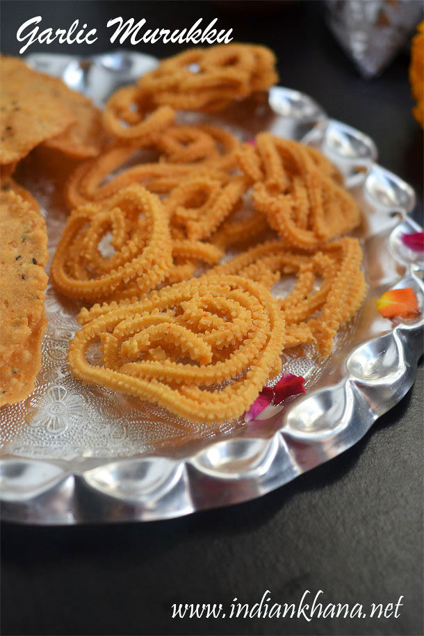 Garlic-Murukku