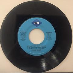 GLENN JONES:WE'VE ONLY JUST BEGUN(RECORD SIDE-B)