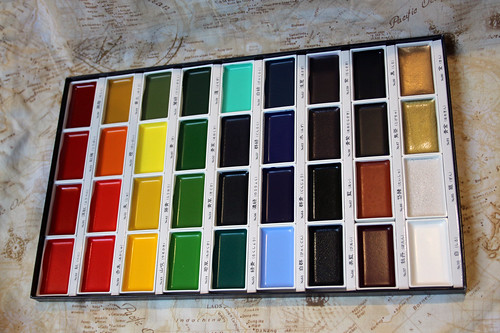 New paint palette, yay! \o/