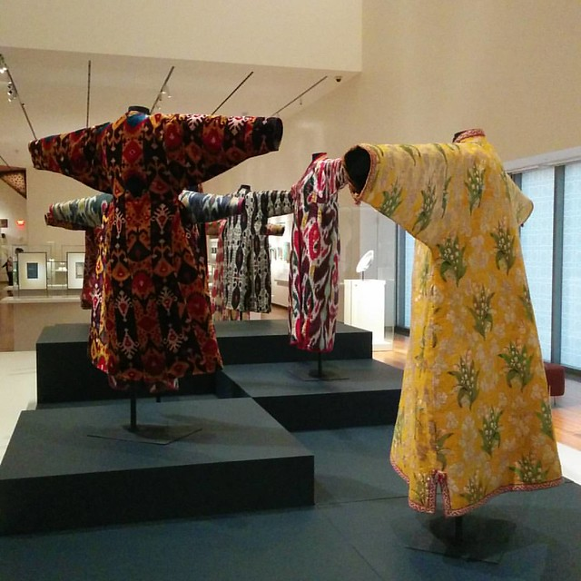 Silk robes of central Asia #toronto #agakhanmuseum #silk #robes #centralasia