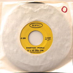 SLY & THE FAMILY STONE:EVERYDAY PEOPLE(JACKET A)