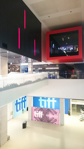 TIFF Bell Lightbox 内部