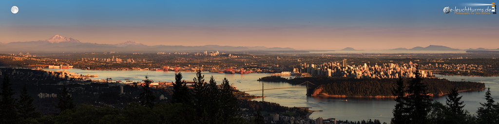 Vancouver in evening light