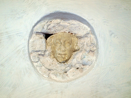 C15th head in N aisle