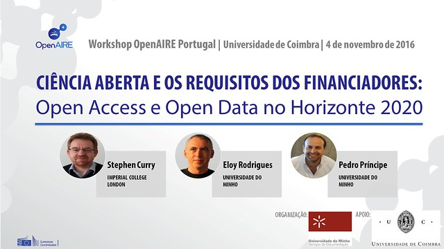Workshop OpenAIRE Portugal 2016