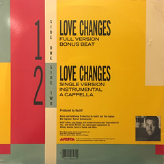 KASHIF+MELI'SA MORGAN:LOVE CHANGES(JACKET B)