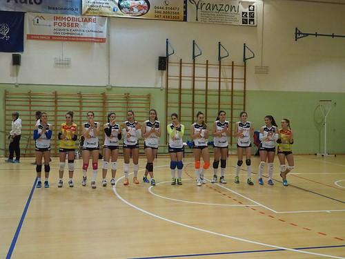 SERIE C: NEW VOLLEY VICENZA EST - VIVIGAS Arena Volley Campionato serie C Partita del 13-11-2016