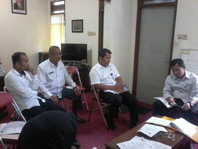 Suasana Rapat Pleno KPU Tulungagung