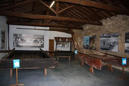 Barcas antigas. Ecomuseo de Arxeriz