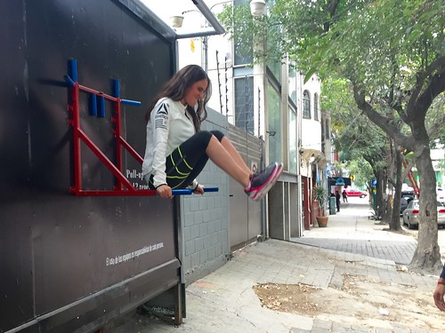 Reebok Gym urbano - The gym is everywhere
