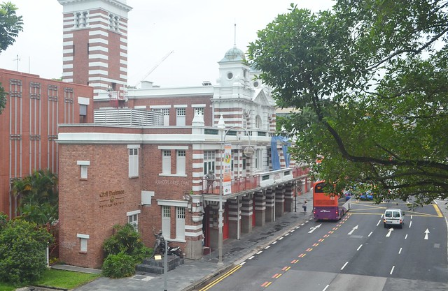singapore's museum district central fire station