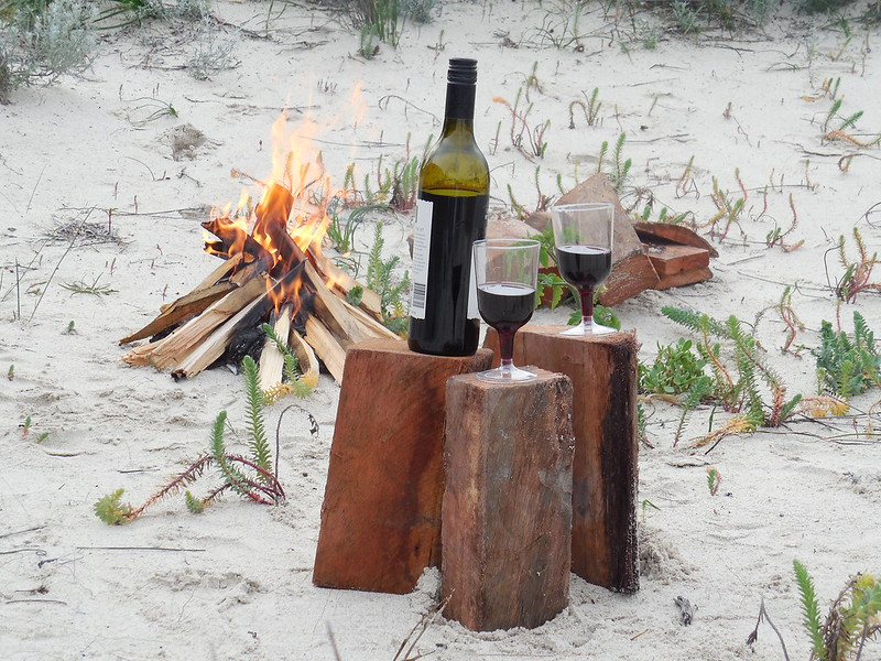 Ledge Point Camping, Beach fire, Bonfire, Beach Camping, Camping, Western Australia, Perth