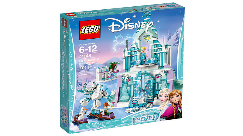 LEGO Disney 2017 - Elsa's Magical Ice Palace (41148)