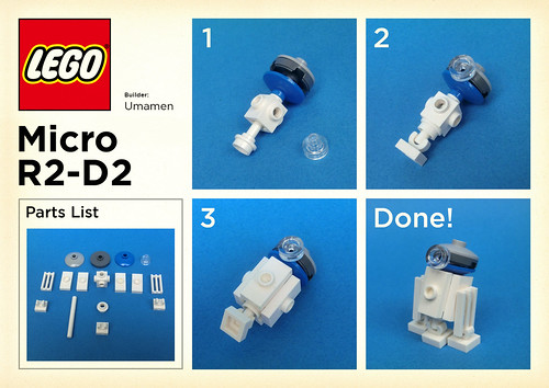 lego star wars r2d2 instructions
