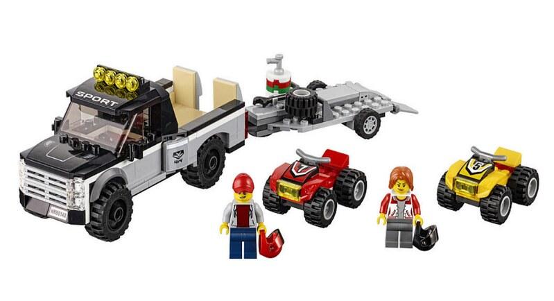 LEGO City 2017 - ATV Race Team (60148)