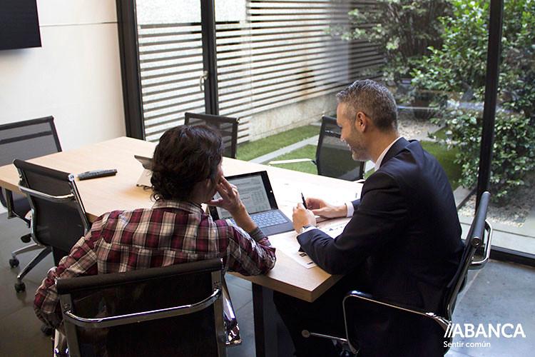 Abanca for Oficina virtual de empleo galicia