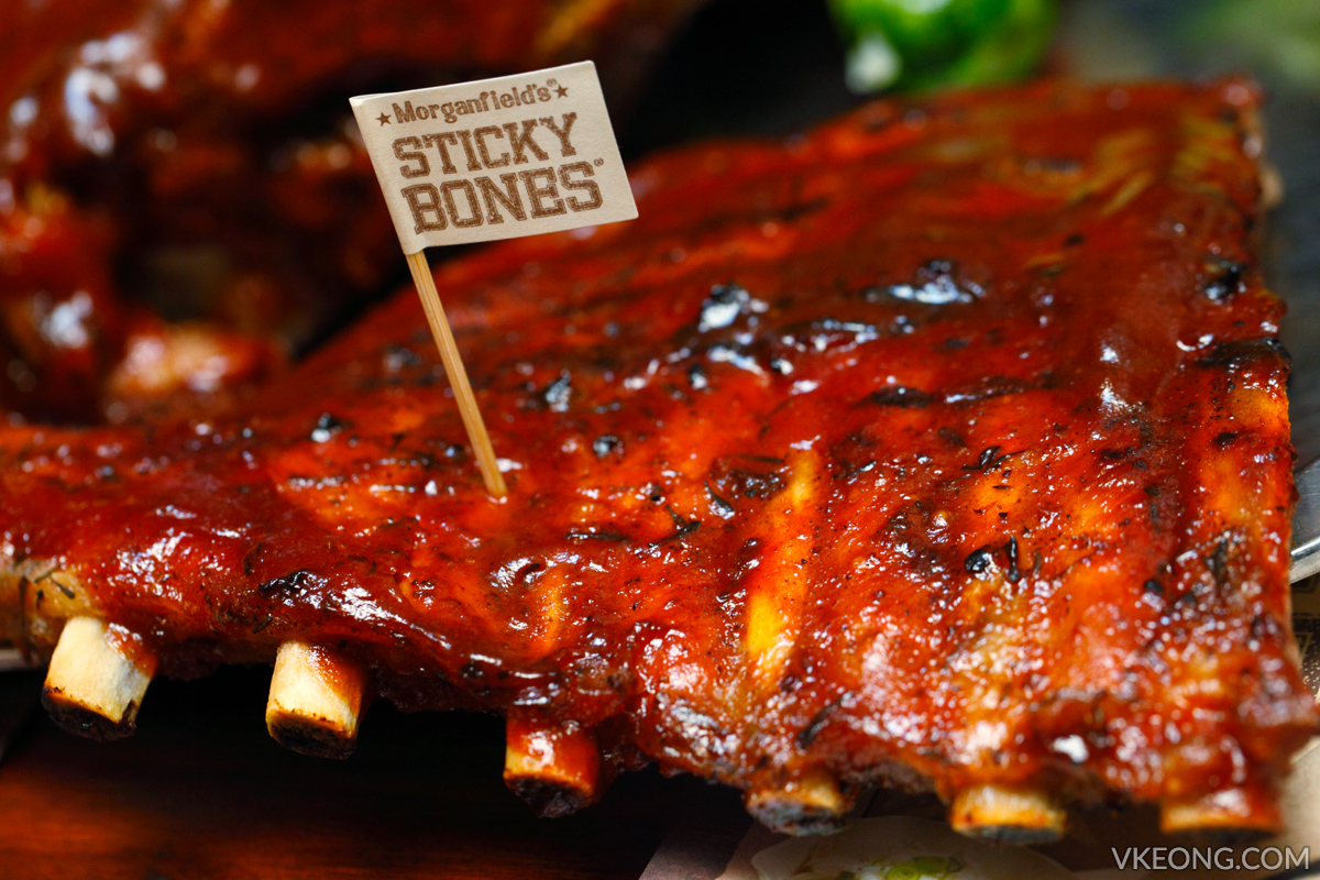 Morganfield's Sticky Bones