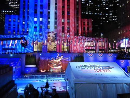 Rockefeller Center, November 7, 2016