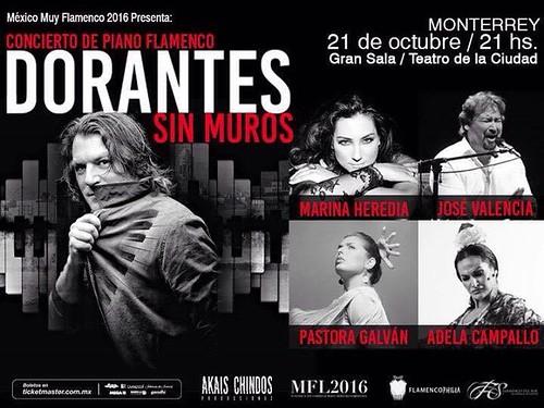 """Concierto para Piano Flamenco """"Dorantes - Sin Muros"""""""