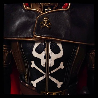 Subtle, isn't it? #CaptainHarlock' outfit leaves not much room for doubt.. for #365days project, 306/365