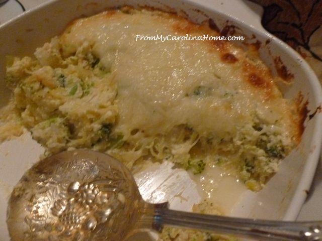 Winter Veggie Side Dish Casserole at From My Carolina Home