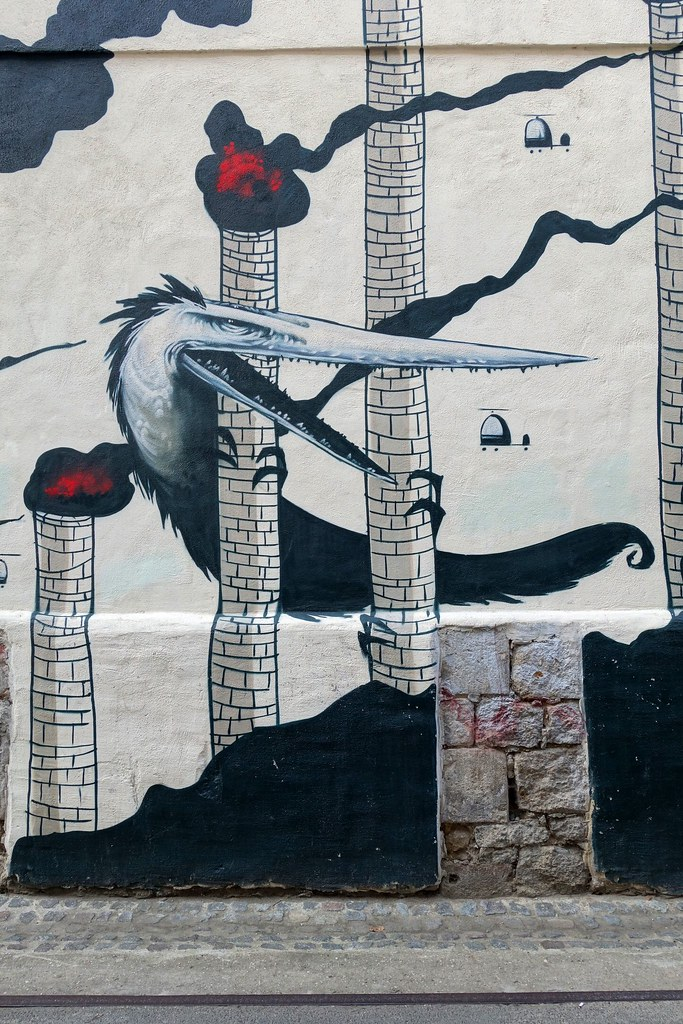 Bird with a Godzilla complex