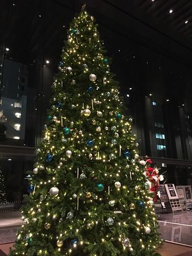 Christmas tree in Tokyo 2016