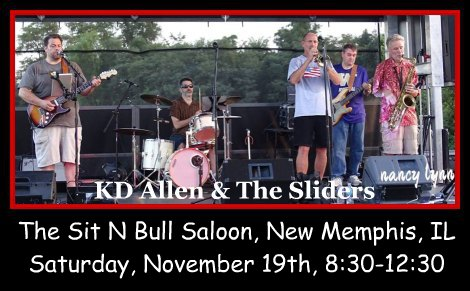 KD Allen & The Sliders 11-19-16