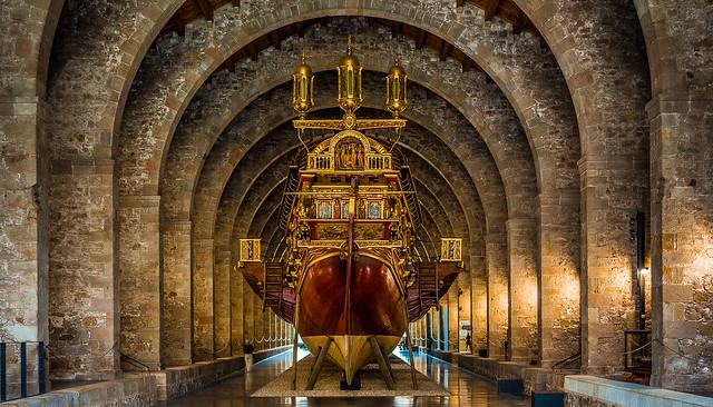 Barcelona: La Real, Museu Marítim