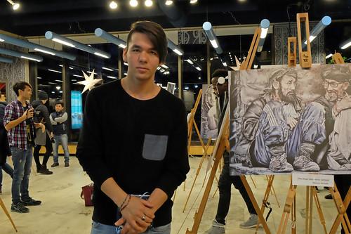 Mohsen Ahmadi, tecknare
