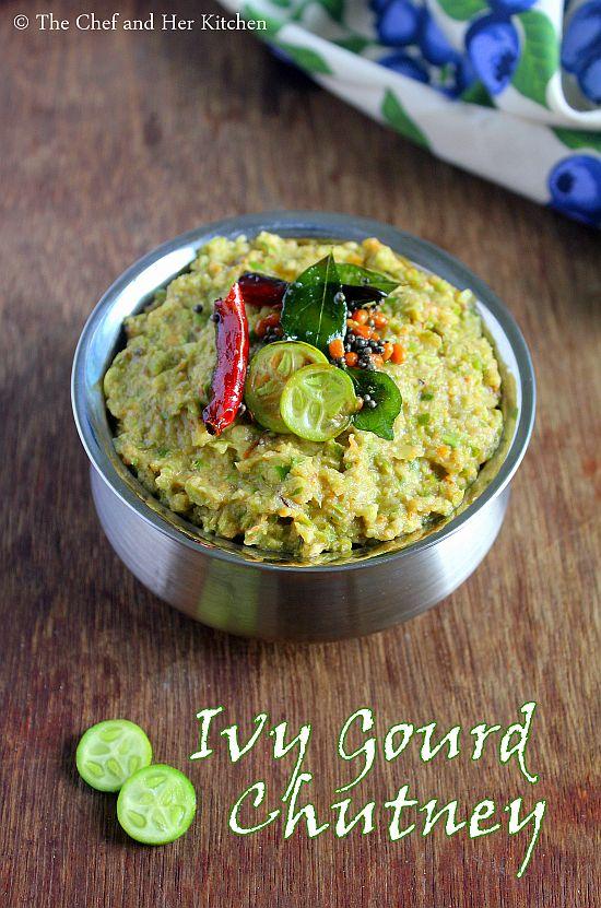 ivy gourd chutney