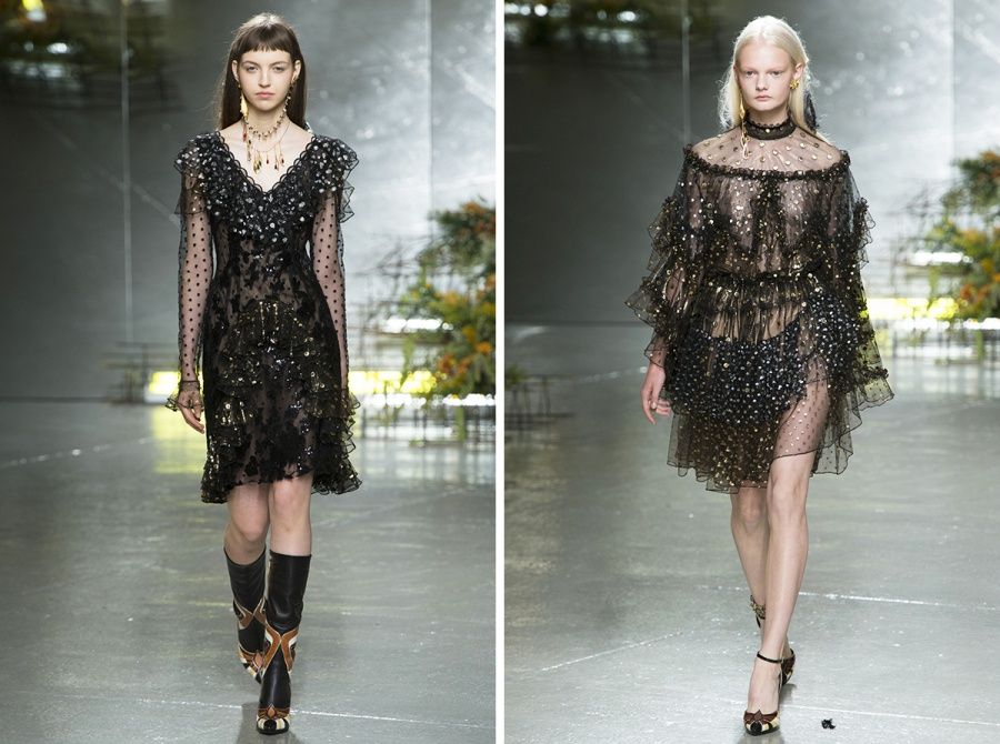 Rodarte Spring 2017 Collection