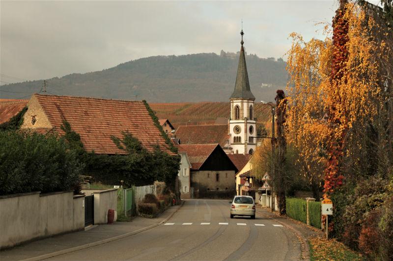 Ruta en coche por Alsacia