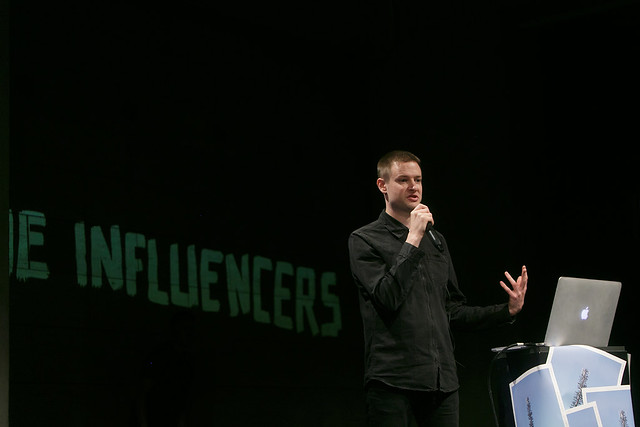 Simon Denny @ The Influencers 2016