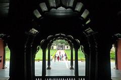 Bangalore - Tipu Sultans Palace inside