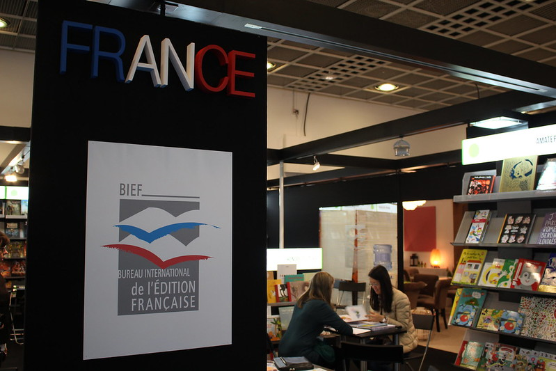 Bureau international de l'édition française BIEF - Frankfurt Buchmesse 2015