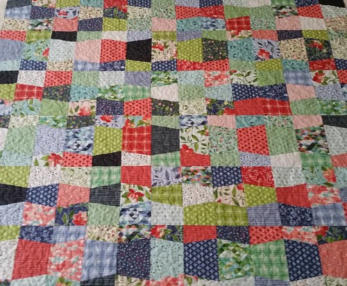 Friction is quilted. Can I get the binding done tonight?