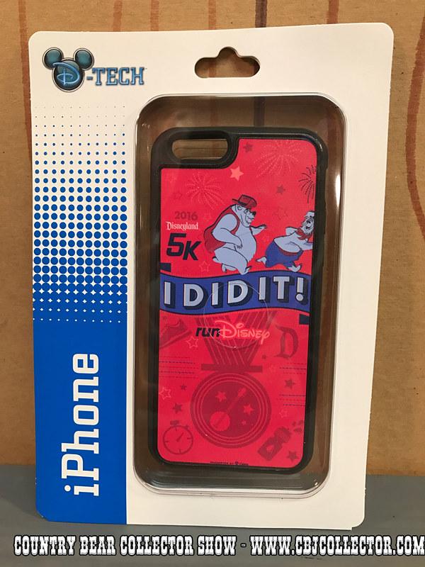 2016 Disneyland 5K D-Tech iPhone Case - Country Bear Jamboree Collector Show #065