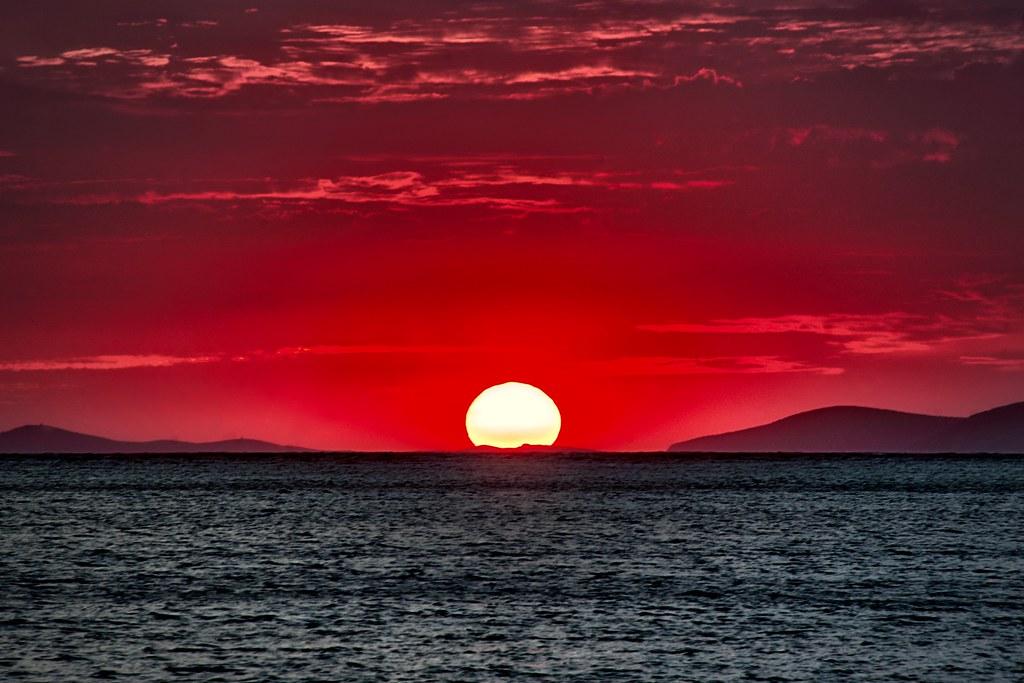 Sunset in Amorgos