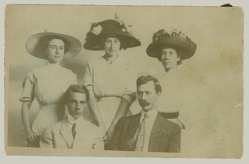 Group of five RPPC