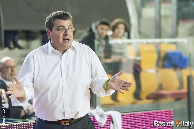 Mens Sana Basket 1871 Siena, Coach Alessandro Ramagli