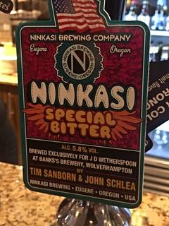 Ninkasi Brewing (Banks), Ninkasi Special Bitter, USA (England)