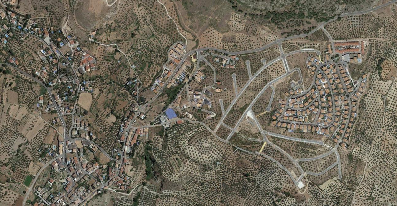 nívar, granada, sniw, después, urbanismo, planeamiento, urbano, desastre, urbanístico, construcción, rotondas, carretera
