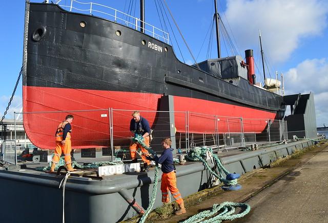Maddog + SS Robin (32) @ Royal Victoria Dock 07-11-16