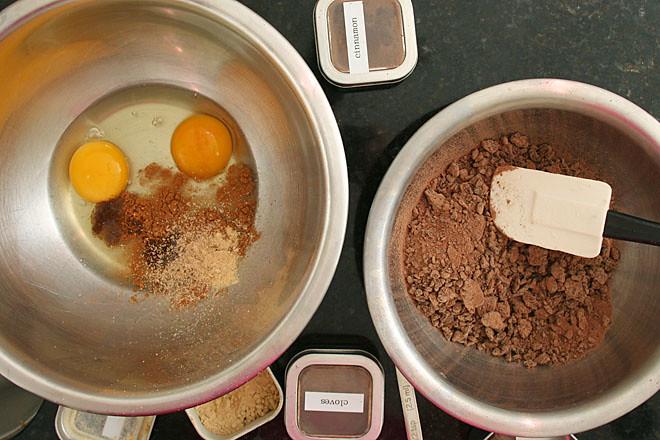 bittersweet chocolate pumpkin tart 2